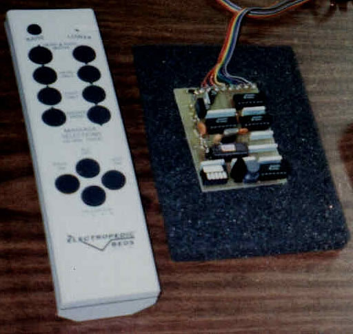 We designed this controller for infrared remote control