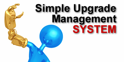 Simple Upgrade Management SYSTEM - seamlessly integrated PIC bootloader system