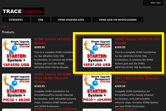 Store SUMS Starter Page 560w 87J50
